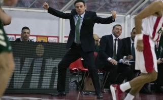 """R.Pitino apie """"Olympiakos"""" žaidėjų pareiškimą: rinktinė neturi nieko bendro su priešprieša"""