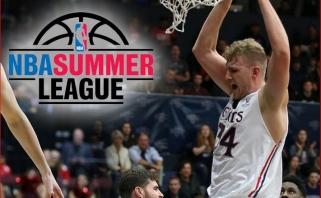 """Įspūdingas """"Žalgirio"""" naujoko pasirodymas NBA Vasaros lygoje"""