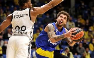 """""""Žalgiris"""" sužinojo savo galutinę vietą Eurolygoje: """"Maccabi"""" nusileido ASVEL"""