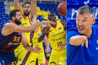 """Šaras nesikuklino: čempionė - """"Barcelona"""", MVP - Mirotičius (paminėjo ir du Giedraičius)"""