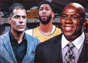 """M.Johnsonas pagyrė """"Lakers"""" savininkę bei GM dėl A.Daviso įsigijimo"""