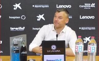 """Po nesėkmės – Jasikevičiaus žvilgsnis į laukiantį finalo svarbos mūšį ir """"nepasiektus"""" savo žaidėjus"""