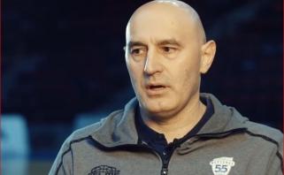 """Naujasis """"Neptūno"""" treneris nestokoja ambicijų: mano tikslas – žaisti taurės finale"""