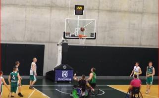 """Integruoto krepšinio rungtynės - didžiojoje """"Žalgirio"""" arenos aikštelėje"""