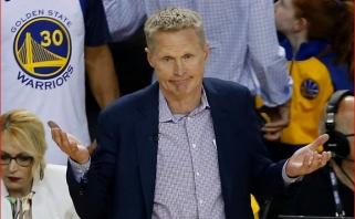 """Perkinsas po """"Warriors"""" sutriuškinimo: Kerro trenerio sugebėjimai man pradeda kelti abejonių"""