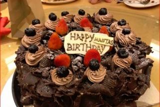 Rinktinė pasveikino M.Kalnietį su gimtadieniu