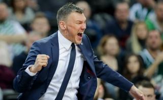 Š.Jasikevičius po pergalės prieš CSKA: tai yra fantastika (komentarai)