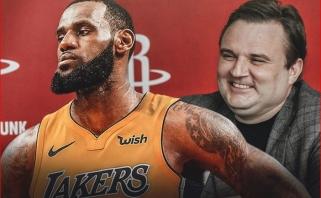"""""""Rockets"""": vadovas: LeBronas - geriausias iš bet kada žaidusių krepšinį, nėra ko ginčytis"""