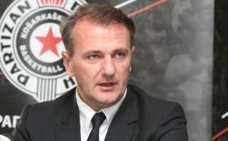 """""""Partizan"""" prezidentas: esu įsitikęs, kad mes pasiruošę Eurolygai"""