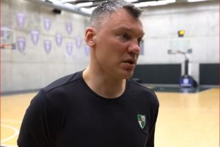 """Š.Jasikevičius: laukiame paties geriausio """"Fenerio"""", to paties lygio žaidimo neužteks"""