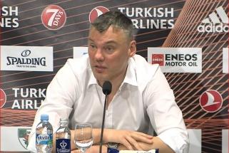 Š.Jasikevičius: dabar nurimę galėsime kreipti dėmesį į detales ir gerinti žaidimą