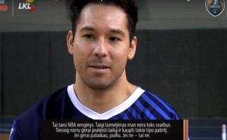 Gruodžio mėnesio MVP D.Low: didesnis indėlis priklauso komandos draugams