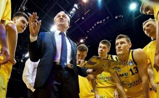 Europos taurės metų strategas - R.Giedraičio treneris
