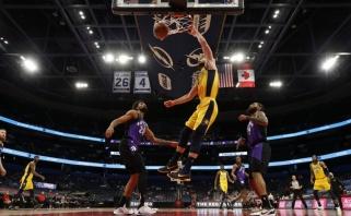 """Galingas Sabonio pasirodymas leido """"Pacers"""" paskutinę sezono dieną pakilti konferencijoje"""