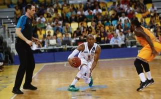"""""""Lietkabelis"""" Ispanijoje silpnai priešinosi """"Gran Canaria"""" krepšininkams"""