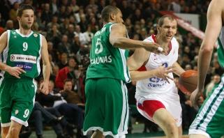 """""""Žalgirio"""" ir CSKA dvikovų pėdsakais – įspūdingi pasirodymai, Šaro eros pergalės ir skaudūs lemiami dūriai"""