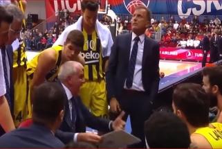 Ž.Obradovičius pratrūko keiksmais savo žaidėjams