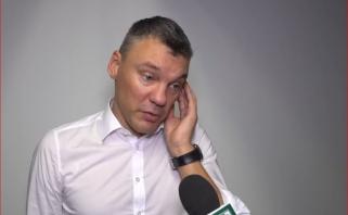 """Kaip niekad nusivylęs Š.Jasikevičius: tai nebuvo """"Žalgiris"""", kurį mes įpratę matyti"""