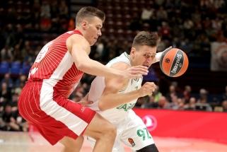 Žalgirietis E.Ulanovas nebedomina Milano klubo