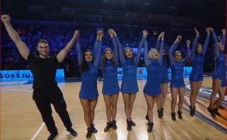 LKL komandų šokėjos vėl grumsis dėl geriausiųjų titulo