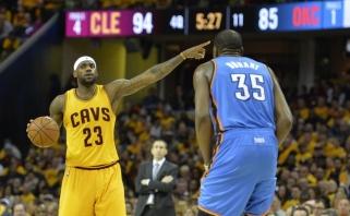 L.Jamesas dominuoja daugiausiai uždirbančių NBA žaidėjų sąraše