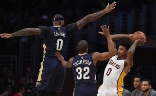 """D-Mo plojo nuo suolo: D.Cousinsas pasiekė pirmąją pergalę su """"Pelicans"""""""