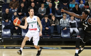 """""""Nevėžis"""" sutriuškino danus ir iškovojo pirmąją vietą FIBA Europos taurės grupėje"""