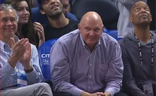 """""""Clippers"""" pergalė prieš """"Hawks"""" - didžiausiu skirtumu klubo istorijoje"""