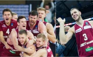 """MVP titulas - dviem """"Lietkabelio"""" lietuviams, o D.Tarolio dėjimas - gražiausių dešimtuke"""