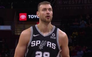 Neįtikėtinu tempu pražangas rinkęs Motiejūnas pratęsė pergalingą sugrįžimą į NBA