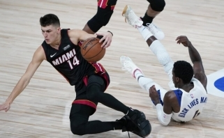 """NBA: """"Pacers"""" padėtis - beviltiška, """"Lakers"""" ir """"Thunder"""" iškovojo pergales"""