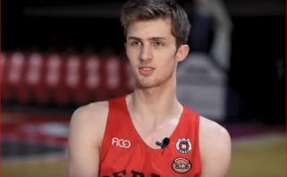 A.Marčiulionis - geriausias NKL sezono jaunasis žaidėjas (VIDEO INTERVIU)