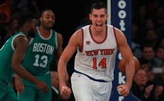 """M.Kuzminsko atstovaujama """"Knicks"""" imasi permainų - tris puolėjus išsiuntė į NBDL"""
