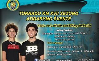 Ballai pasirodymą Lietuvoje baigs maču su studentais