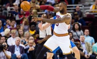 NBA čempionai startavo pergale net ir be solidaus L.Jameso indėlio