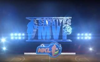 Į NKL sugrįžęs M.Jucikas tapo savaitės MVP