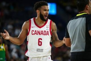 Paskutinės minutės papildymas: prie Kanados rinktinės prisijungė NBA krepšininkas