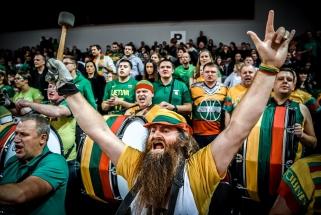 """Viskas pagal planą: Lietuva - pirmame atrankos į """"Eurobasket"""" burtų krepšelyje"""