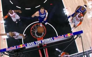 Įspūdingas D.Joneso dėjimas ir neįtikėtinas P.George'o metimas - gražiausi NBA momentai