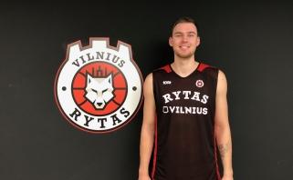 """""""Rytas"""" pasirašė ilgalaikį kontraktą su sostinės krepšinio auklėtiniu N.Giga"""