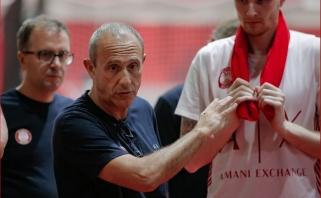 """D.Dulkys - vienas """"Armani Olimpia"""" lyderių draugiškame mače"""