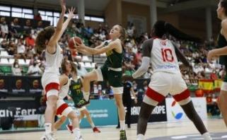 Merginos ispanėms nusileido beveik 80 taškų skirtumu