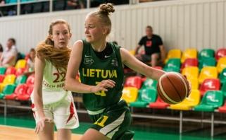 Lietuvės patyrė pirmą pralaimėjimą Ramūno Šiškausko tarptautiniame turnyre
