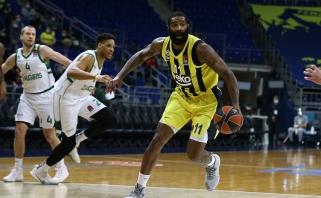 """""""Fenerbahče"""" palikusio O'Quinno karjeros pokyčiai: NBA - Eurolyga - Pro A debiutantai"""