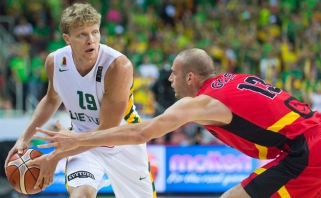 Lietuvos rinktinė - pajėgiausių Pasaulio taurės komandų burtų krepšelyje