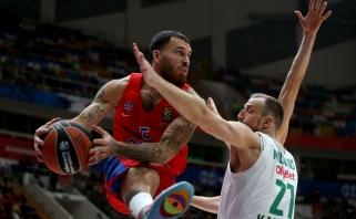 """Metas daryti išvadas – """"Žalgirio"""" laukia klaidų nedovanosiančio CSKA barjeras"""