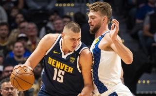 Pripažinimas: trečią kartą iš eilės naudingiausias NBA žaidėjas – europietis