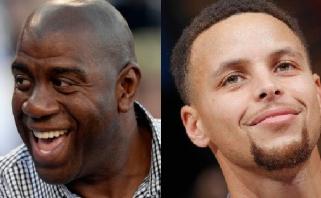 NBA Magico Johnsono vardo apdovanojimą skyrė S.Curry