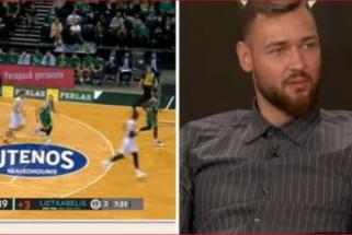 Motiejūnas apie buvusį komandos draugą Rice'ą: problemos prasidėjo persikėlus žaisti į NBA