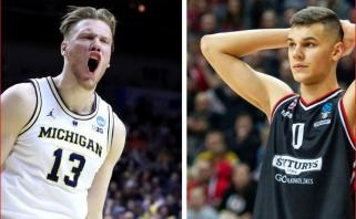 NBA naujokų biržos prognozėse figūruoja dvi lietuviškos pavardės